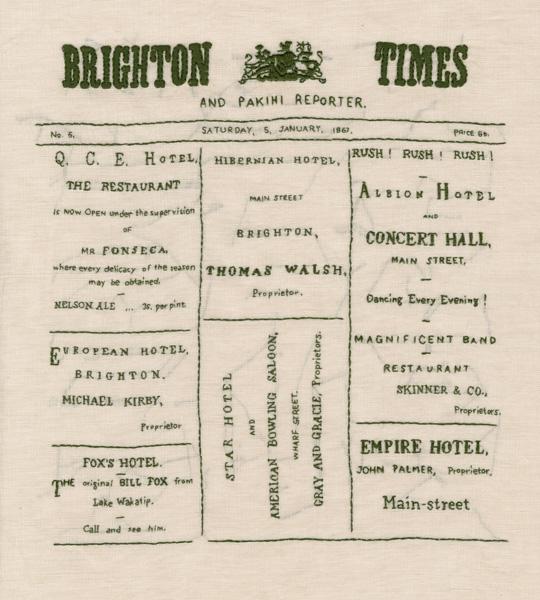 Brighton Times sampler. (2014).